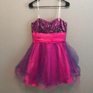 Masquerade Strapless Dress